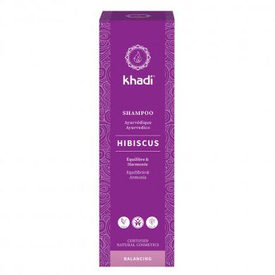KHADI - Shampooing ayurvédique hibiscus cuir chevelu sensible