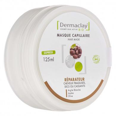 DERMACLAY - Masque capillaire réparateur