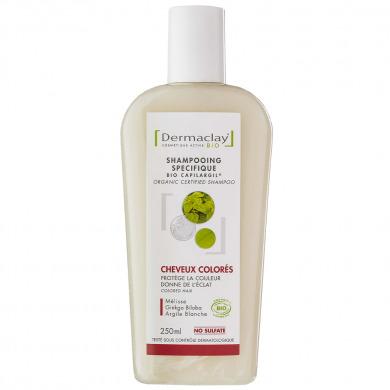 DERMACLAY - Shampooing spécifique cheveux colorés
