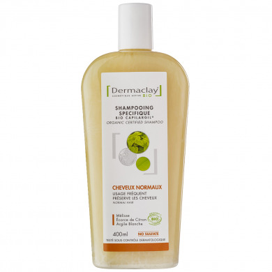 DERMACLAY - Shampooing spécifique cheveux normaux usage fréquent