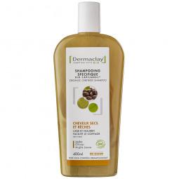 Shampooing spécifique cheveux secs et rêches