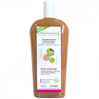 DERMACLAY - Shampooing spécifique extra-douceur