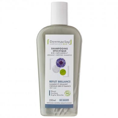 DERMACLAY - Shampooing spécifique reflet et brillance