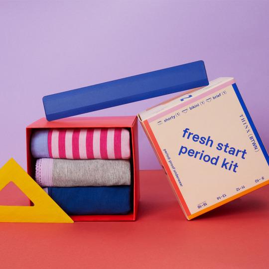 Girls period kit - Culottes menstruelles adolescentes