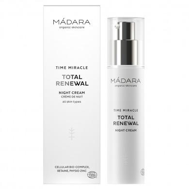 MADARA - Crème de nuit renouvellement total Time Miracle