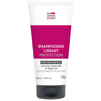 MADEMOISELLE BIO - Shampooing lissant protection