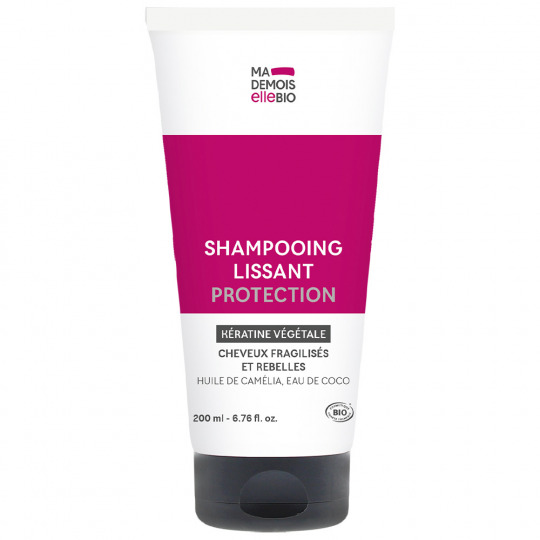 Shampooing lissant protection