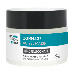 Gommage capillaire au sel marin