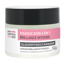 Masque soin 2 en 1 brillance intense