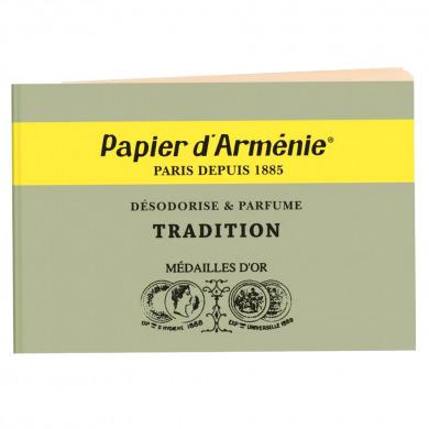 PAPIER D'ARMENIE - Le carnet classique