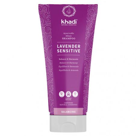 Shampooing ayurvédique hibiscus cuir chevelu sensible