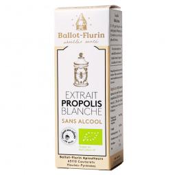 Extrait de propolis blanche sans alcool