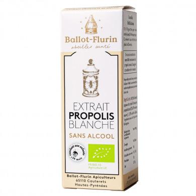 BALLOT-FLURIN - Extrait de propolis blanche sans alcool